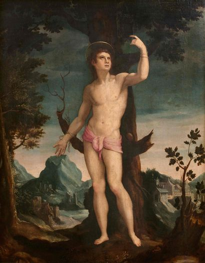 Attribué à Giovanni LARCIANI, dit le MAITRE...