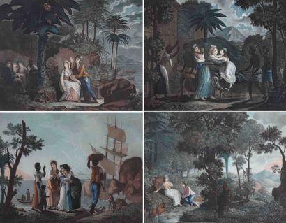 Ecole française du XIXe. Histoire de Paul...