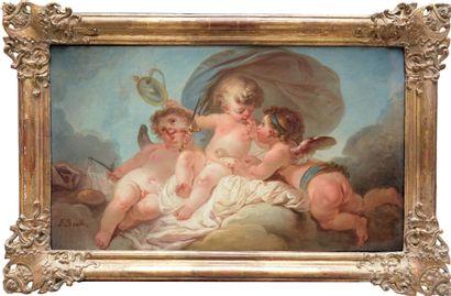 François EISEN (1685-après 1778) (Attribué...