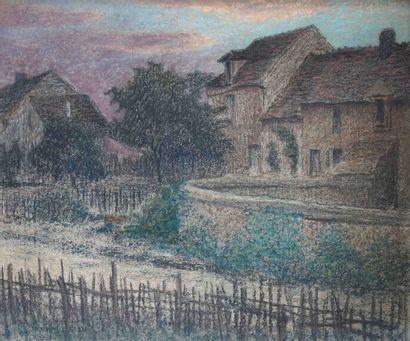 Pierre Ernest PRINS (1838-1913) Chemin aux...
