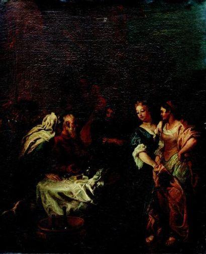 Charles de LA FOSSE (1636 - 1716) Jacob demandant...