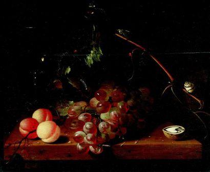 Laurens CRAEN (c.1620-1665/71) Nature morte...