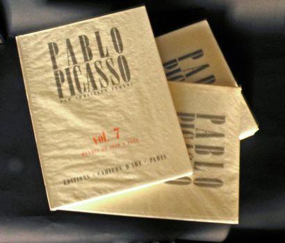 Chr. ZERVOS. Pablo Picasso. 20 vol. Ed. du...
