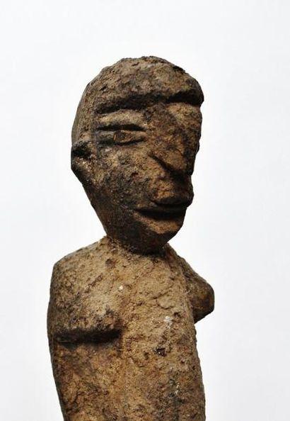 Important et grand couple Bateba Phuwe du Maître des Nez Crochus ? Lobi - Burkina...