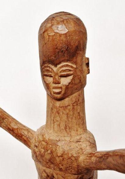 Bateba Ti Puo ? Représentation féminine ? Lobi/Birifor - Burkina Faso Statue monoxyle...