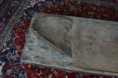 Lit de repos et/ou de funérailles ? Lobi ? Burkina Faso Bois à belle patine naturelle...