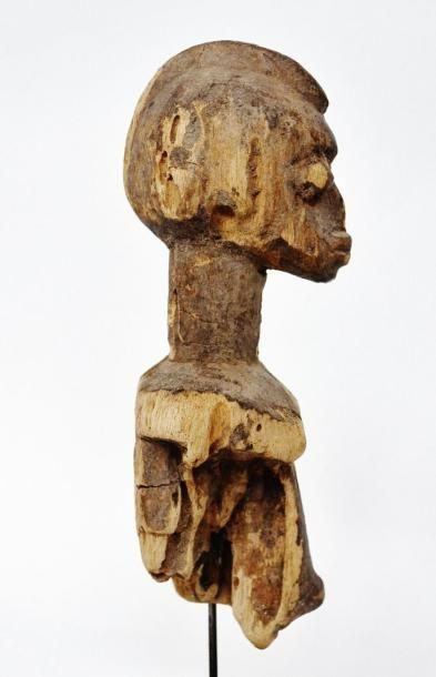 Bateba féminin ? Lobi - Burkina Faso Bois tendre à patine d'usage sèche, miel très...