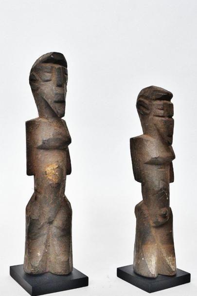 Couple ? Lobi - Burkina Faso, à la frontière...
