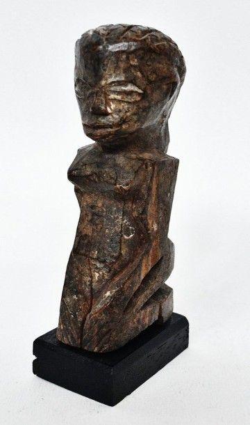 Petite sculpture féminine ? Lobi - Burkina...