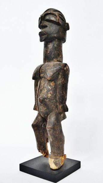 Bateba féminin ? Lobi - Burkina Faso Bois...