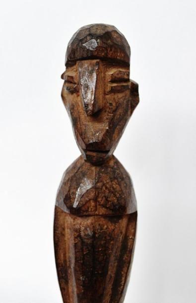 Bateba féminin du «Maître des nez crochus» ? Lobi - Burkina Faso/Ghana Bois dur...