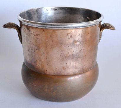 RAFRAICHISSOIR en bi-métal, en cuivre et...