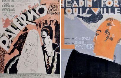 Fabien LORIS (1900-1984) Projet de couverture...