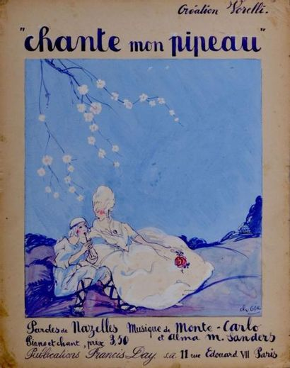 Charles Félix GIR (1883-1941) Chante mon...
