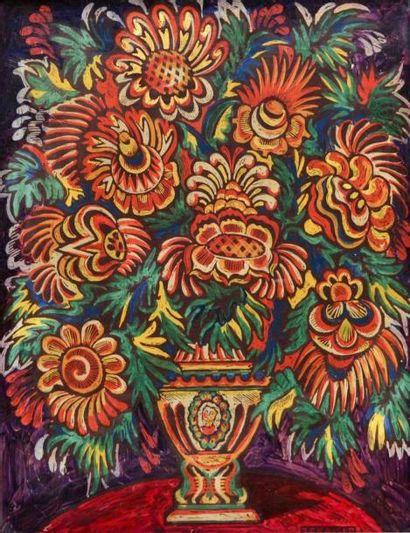 Jean-Pierre KAISER (1915-2001) Bouquet de...