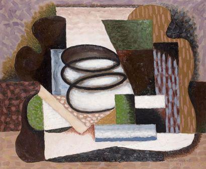 Serge CHARCHOUNE (1888-1975). Composition...