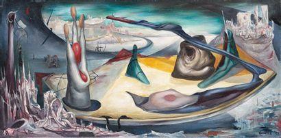 Henri GOETZ (1909-1989). Composition, 1944....