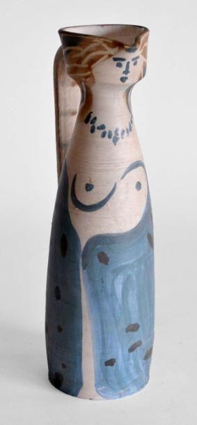 Pablo PICASSO (1881-1973) Femme, vers 1950-55....