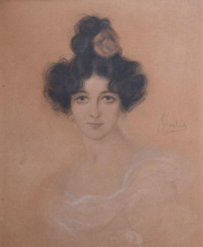 Franz Seraph VON LENBACH (1836-1904) Portrait...