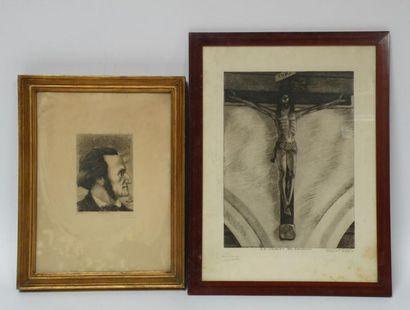Henry CHAPRONT (1876-1965) Le Christ de Gauguin...
