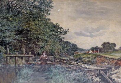 William Ewart LOCKHART (1846-1900) La jeune...