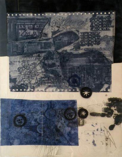 Antoni CLAVE (1913-2005) Composition. Lithographie...