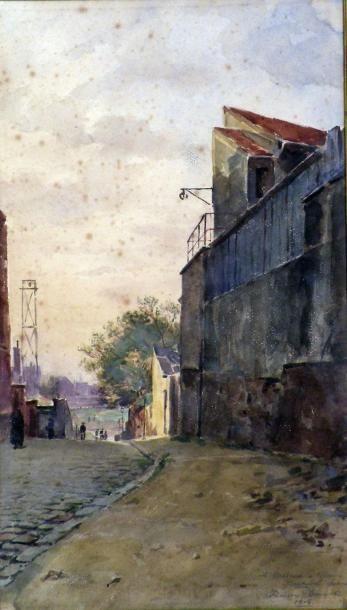 François DURANTI (Naples 1857 - ? après 1900)....