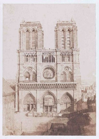 Charles NÈGRE (1820-1880). Notre-Dame de...
