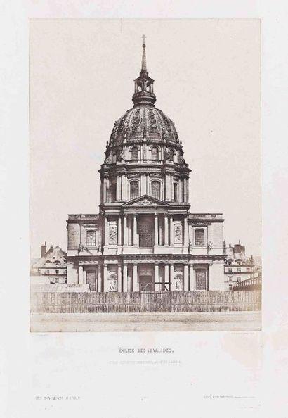 Alphonse FORTIER (1825-1882). Église Sainte-Geneviève...