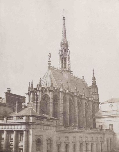 Édouard-Denis BALDUS (1813-1889). La Sainte-Chapelle...