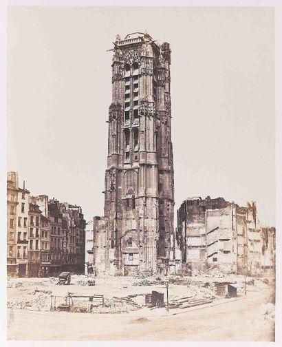 Édouard-Denis BALDUS (1813-1889). La tour...