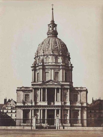Gustave LE GRAY (1820-1884). Église des Invalides....