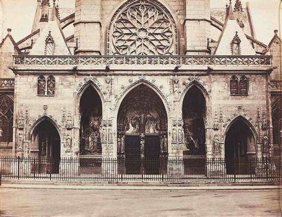 Gustave LE GRAY (1820-1884). Saint-Germain-l'Auxerrois,...