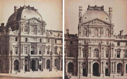 Gustave LE GRAY (1820-1884). Pavillon Richelieu...