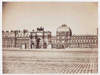 Gustave LE GRAY (1820-1884). Carrousel du...
