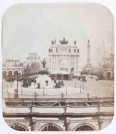 Édouard Hyacinthe HERMAGIS (?-1868). Inauguration...