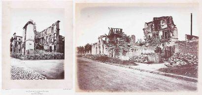 Alphonse J. LIEBERT (1827-1913/14). Les ruines...