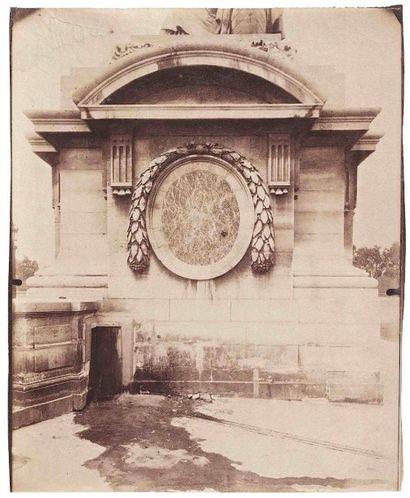 Eugène ATGET (1857-1927). Fontaine du Marché...