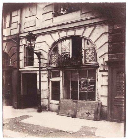 Eugène ATGET (1857-1927). Boutique, 19 place...