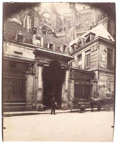 Eugène ATGET (1857-1927). Hôtel des Abbés...
