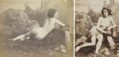 Louis-Camille D'OLIVIER (1827-1870). Nus...