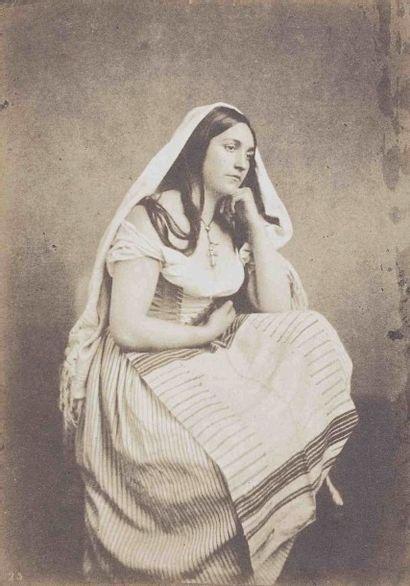 Jules MALACRIDA (actif 1840-1890). Étude...