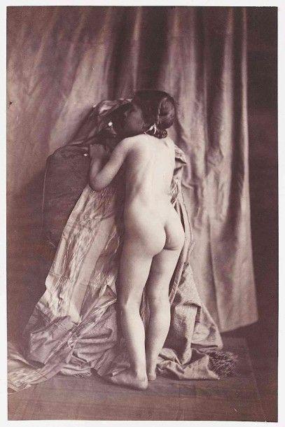 Eugène DURIEU (1800-1874). Études de nu (fillette)....