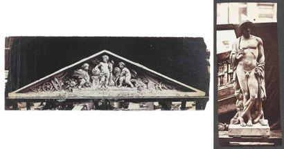 Édouard-Denis BALDUS (1813-1889). Sculptures...