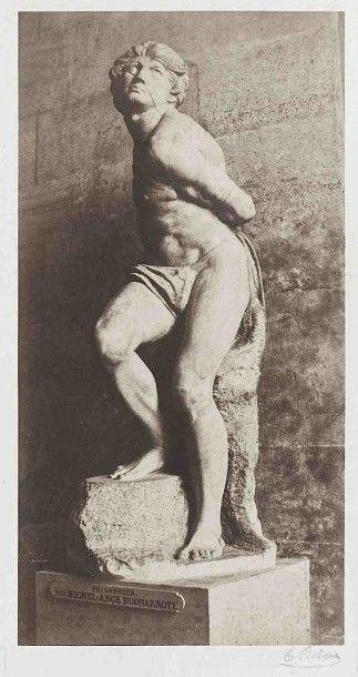 Édouard-Denis BALDUS (1813-1889). Prisonnier,...