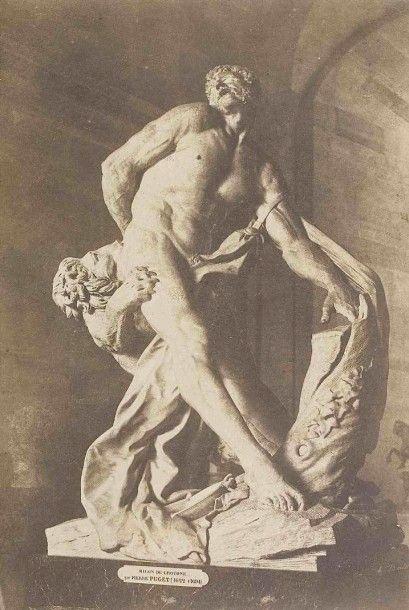 Édouard-Denis BALDUS (1813-1889). Le Milon...