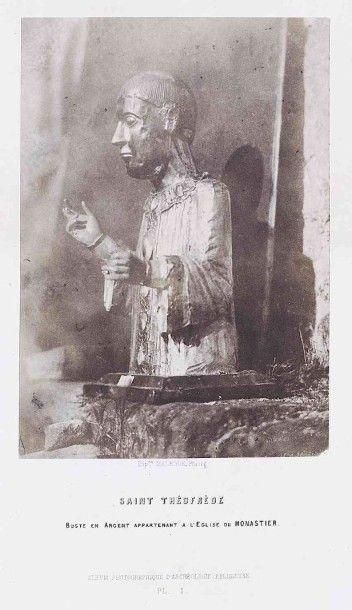 Hippolyte MALÈGUE (1825-1901). Album photographique d'archéologie religieuse. Le...