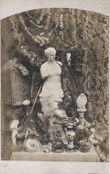 Adolphe BILORDEAUX (1807-1870). Nature morte...