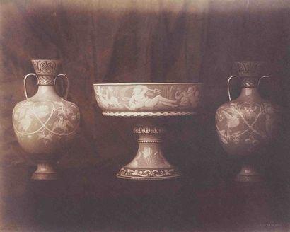 Louis-Rémy ROBERT (1811-1882). Vases de Sèvres : vase étrusque de Naples (INV n°...