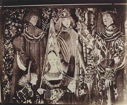 Eugène ATGET (1857-1927). Tapisserie mille...